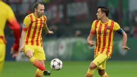One of Andres Iniesta or Xavi could start on the bench for Barcelona against Real Madrid.