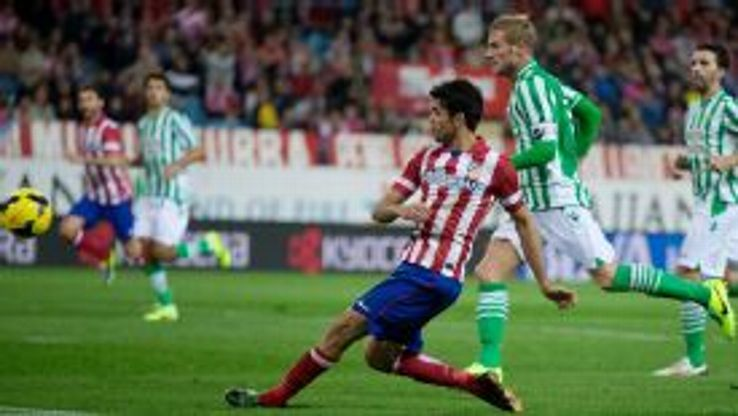 Diego Costa scored Atletico Madrid's fourth goal against Real Betis.