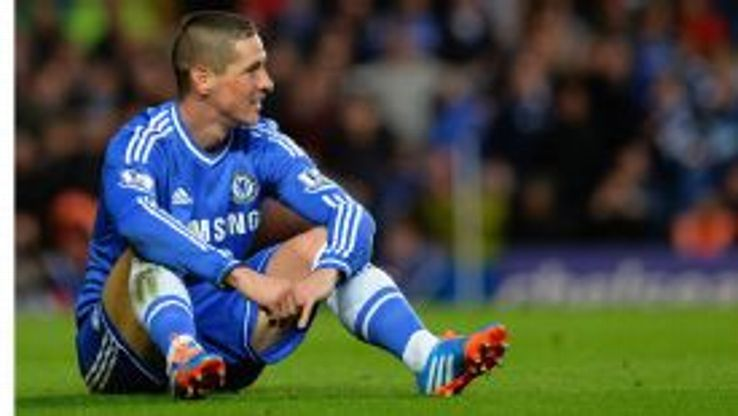Fernando Torres reflects on a poor miss against Man City, but he set up Chelsea's first goal moments later.