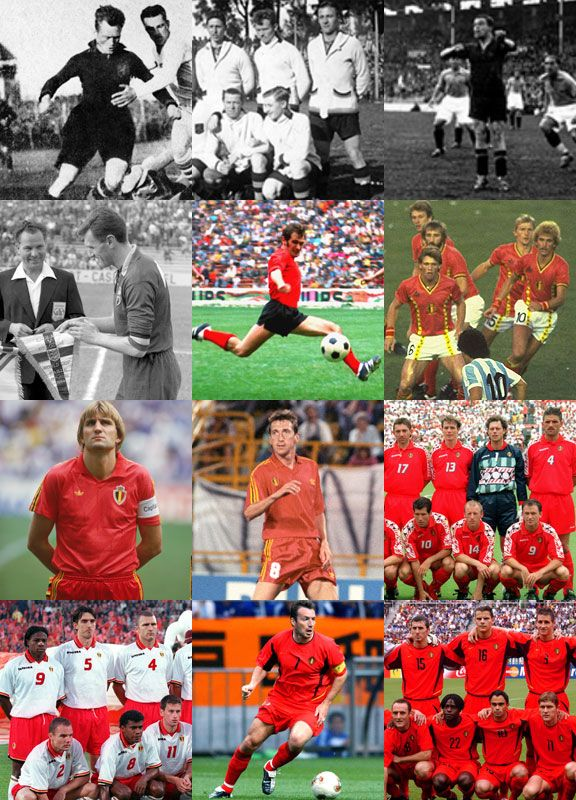 Belgium have a long history in the competition, beginning in 1930.