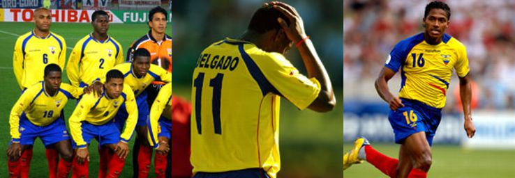 Ecuador have only made it to two World Cup in 2002 and 2006.