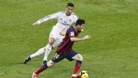 FIFA president Sepp Blatter prefers Lionel Messi to Cristiano Ronaldo.