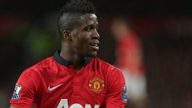 Wilfried Zaha failed to really sparkle on his first competitive start for Manchester United.