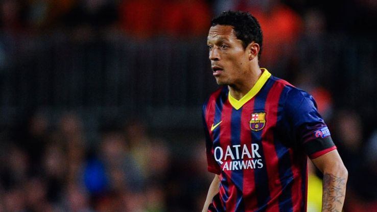 Adriano was unable to complete Tuesday's win over Celta Vigo.