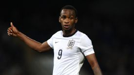 Saido Berahino has impressed with the England Under-21 side this season.