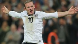 Rooney doesn't like playing out wide, but he might get a chance as a central striker for his country.