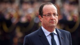 Francois Hollande has confirmed the new tax rate.
