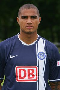 Kevin-Prince Boateng made his name at Hertha Berlin.