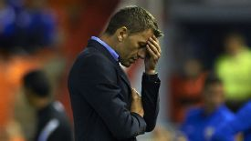 Miroslav Djukic endured further disappointment on Wednesday evening.