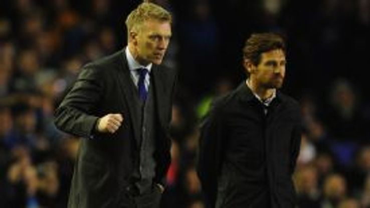 Andre Villas-Boas believes he was under more pressure at Chelsea than David Moyes is currently under at Man Utd.