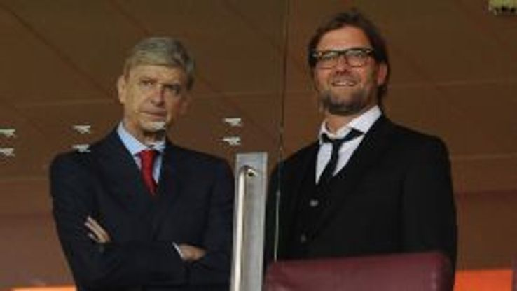 Juergen Klopp prefers 'English football' to Arsene Wenger's possession-based approach.