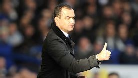 Roberto Martinez is the only visiting manager to have won at Goodison Park in 2013.