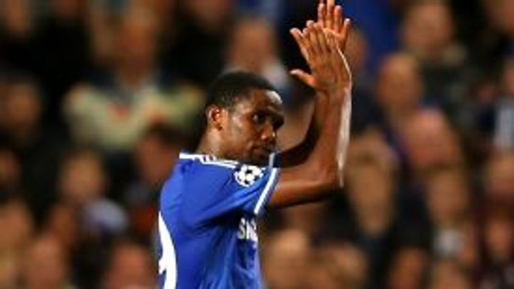 Samuel Eto'o found the net twice against Schalke.