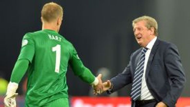 Hodgson insists that Hart is still his first-choice.