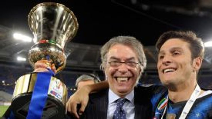 Massimo Moratti revealed that he had decided to walk away after the 2011 Coppa Italia success.