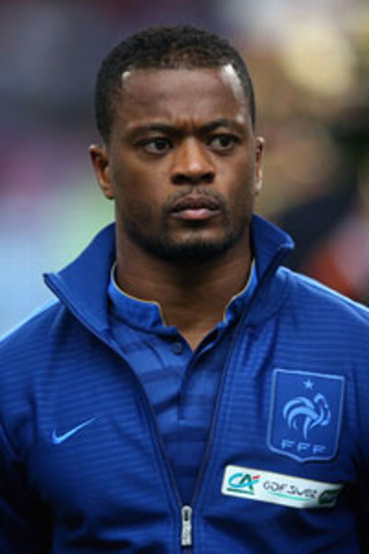 Patrice Evra makes the cut despite his controversial remarks.