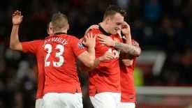 Phil Jones could be called into action in midfield.