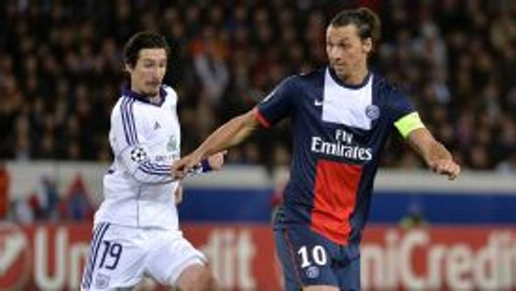 Kljestan and Ibrahimovic exchanged taunts during the Champions League clash.
