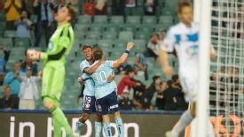 Alessandro Del Piero helped Sydney beat Melbourne on his 39th birthday.