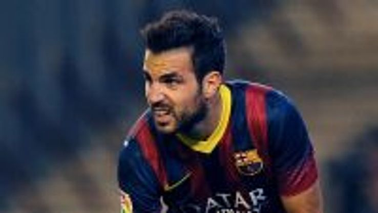 Cesc Fabregas sustained an injury during Barcelona's victory over Real Betis.