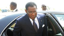 Teodoro Obiang has been in power in Equatorial Guinea since 1979.