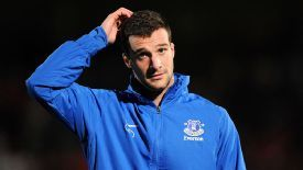 Apostolos Vellios has not played for Everton since January.