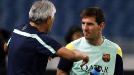 Barcelona insist there is nothing unusual in the way Messi's latest injury is being treated.