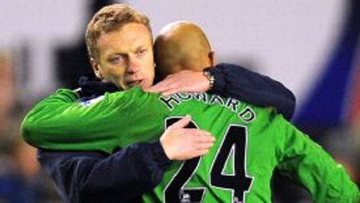 Howard has described Moyes as being a 'father figure' to him
