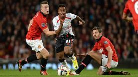 Phil Jones may benefit from Michael Carrick's absence with some more time in central midfield for Man Utd.
