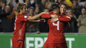 Cristiano Ronaldo celeb Portugal vs. Sweden