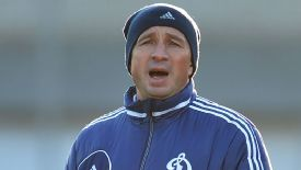 Dan Petrescu is currently the manager of Dynamo Moscow.