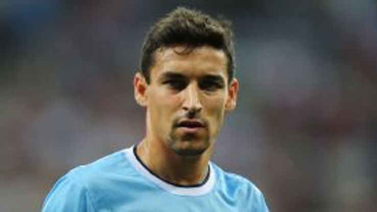Jesus Navas has lost his place to Samir Nasri.