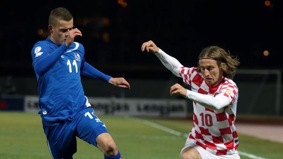 Can Modric inspire his country, who face Brazil in the World Cup's opening game on June 12?
