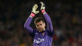 Wojciech Szczesny has made 121 appearances for Arsenal.