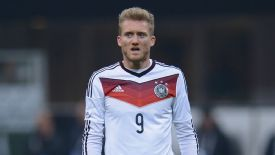 Andre Schuerrle is likely to feature against England at Wembley on Tuesday.