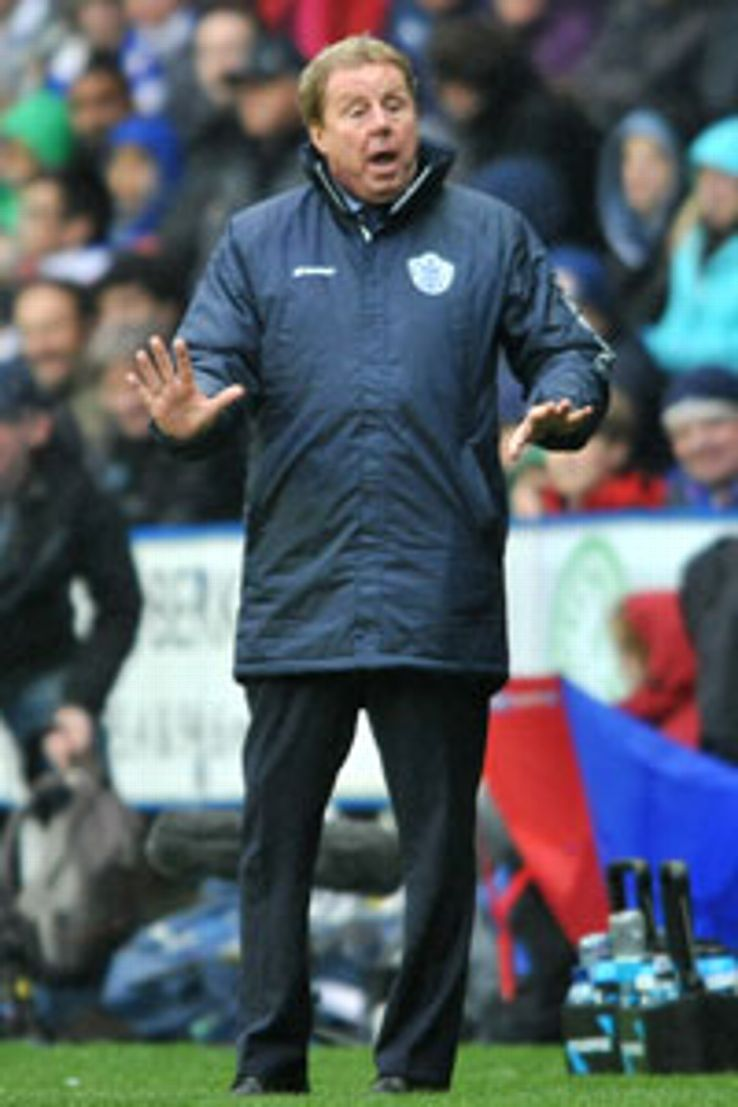 Harry Redknapp's QPR side are currently third in the Championship.