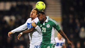 Italy and Nigeria played out a 2-2 draw.