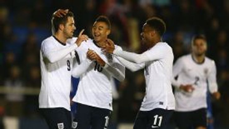 England beat San Marino 9-0 in a Under-21 European Championship qualifier.