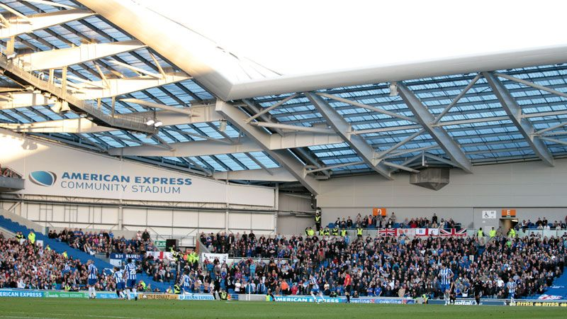 AMEX Stadium opened in July 2011.