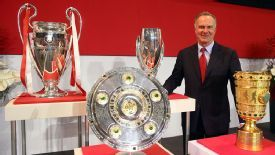 Karl-Heinz Rummenigge has hailed the