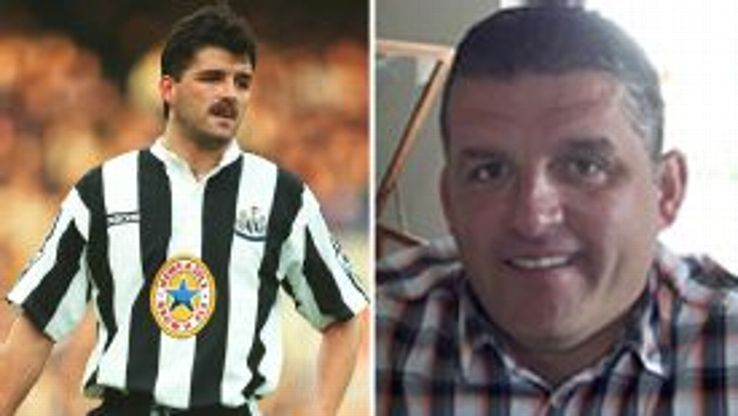 Former Newcastle hero Philippe Albert now sells fruit and veg in Belgium.