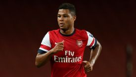 Serge Gnabry has impressed during his appearances for Arsenal this season.