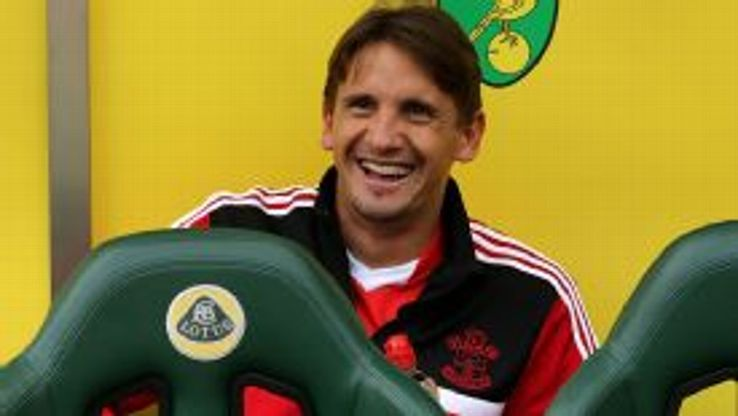 Gaston Ramirez Southampton bench