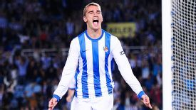 Antoine Griezmann has become hot property in Europe after scoring regularly at home and abroad.