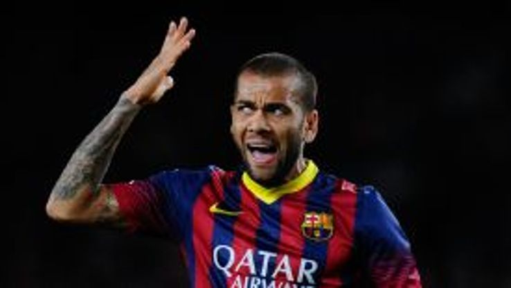 Dani Alves is expected to miss the games against Granada and Ajax.