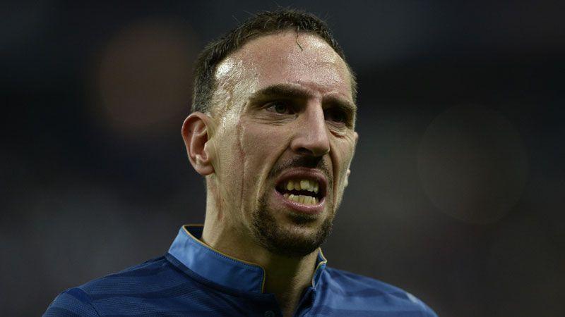 Franck Ribery sustained the injury during France's World Cul triumph against Ukraine.
