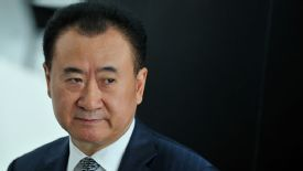 Wang made his fortune in real estate and a chain of cinemas in China.