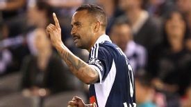 Archie Thompson was on the scoresheet as Melbourne Victory beat Adelaide United.