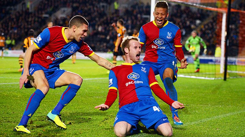 Ten-man Crystal Palace are ecstatic after Barry Bannan gave them a 1-0 win at Hull City.