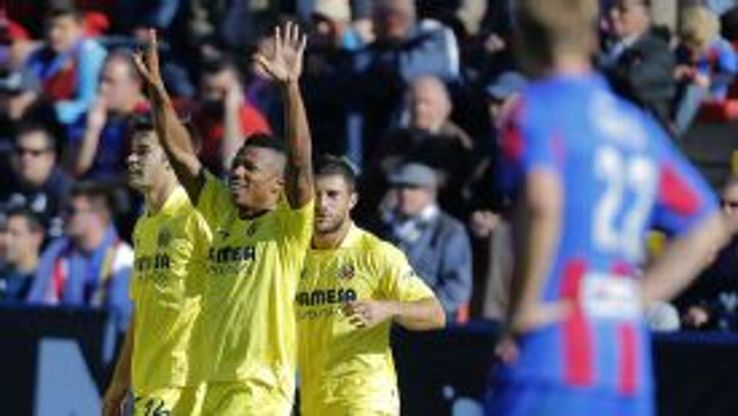 Ikechukwu Uche helped himself to a brace for Villarreal.